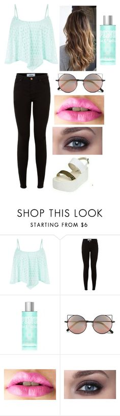 """""""Sin título #350"""" by brisacolman ❤ liked on Polyvore featuring Victoria's Secret and Linda Farrow"""