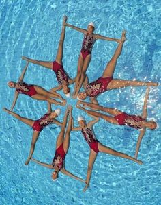 Synchronize Swimming Championship in Melbourne 2013.jpg