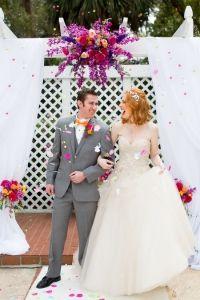 Bright Bold Beautiful Wedding - The Wedding Chicks