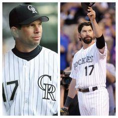 Todd Helton, Rockies. 1997-2013. Major League Baseball Teams, Mlb Teams, Baseball Season, Baseball Players, Colorado Rapids, Colorado Rockies, Todd Helton, Rockies Baseball, Cubs Team