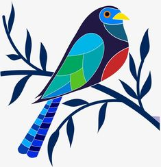 Passarinho Pintado - Time Tutorial and Ideas Bird Drawings, Art Drawings Sketches, Easy Drawings, Fabric Painting, Painting & Drawing, Atelier Theme, Art And Illustration, Madhubani Painting, Arte Pop
