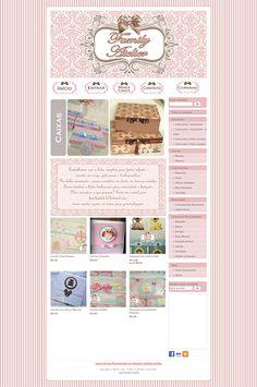 Cantinho do blog Layouts e Templates para Blogger: Personalização de Loja Ilúria Family Atelier