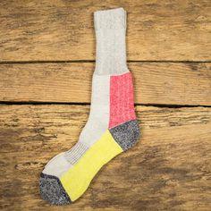 FOLK Football Socks - Lumi Pink