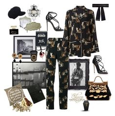 """""""Oh, Othello! Another Shakespeare- Desdemona."""" by juliabachmann ❤ liked on Polyvore featuring Ladurée, Olympia Le-Tan, GUESS, Dolce&Gabbana, Coco de Mer, Gallery, The Last conspiracy and Bernard Delettrez"""