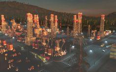Cities: Skylines — After Dark #10 | Нефтянной магнат