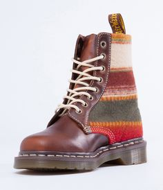 Love these Pendleton x Doc Martens boots.