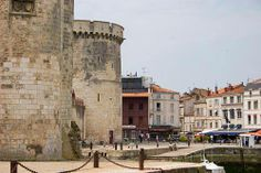 La Rochelle Pictures: Old Town behind the towers