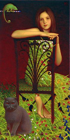 Polina's Portrait by Andrey Remnev