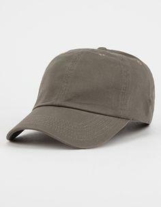 Solid Twill Dad Hat  Green