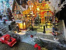 * Christmas Village Display BiG STAIRCASE platform base 28x12 Dept 56 Dickens +