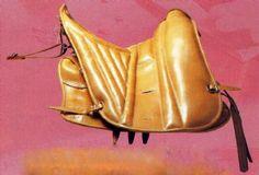 Traditional Italian Maremmano saddle by Zaldi