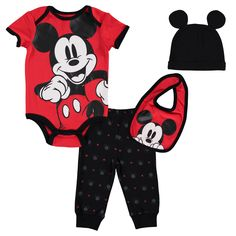 Disney Mickey Mouse, Mickey Mouse Baby Shower, Mickey Mouse Outfit, Mickey Head, Baby Mouse, Baby Disney, 1st Birthday Shirts, Cute Pants, Cute Baby Clothes