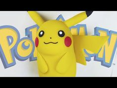 "PIKACHU ""TUTORIAL"" ✔PORCELANA FRIA ✔POLYMER CLAY ✔PLASTILINA - YouTube"