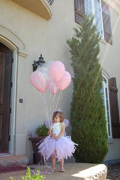 Ballerina Birthday party with many pics and cute ideas!