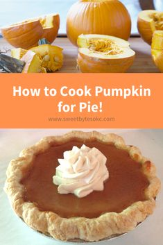 If you've never made a fresh pumpkin pie and you're ready to give it a try, this article will walk you through everything you need to know about how to cook pumpkin for pie. Get ready to have the best tasting, freshest pumpkin pie ever! Fresh Pumpkin Pie Recipe, Pumpkin Pie From Scratch, Homemade Pumpkin Pie, Pumpkin Pie Recipes, Canned Pumpkin, Fall Recipes, Pumpkin Spice, Pumpkin Puree, Flan