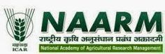 National Academy of Agricultural Research Management (NAARM) is conducting walk in interview  for recruitment of Young Professional‐II to work in the various Divisions at the Academy. Interested and eligible candidates have to directly walk in for interview.