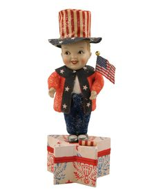 Look at this Yankee Doodle Dandy Figurine on #zulily today!