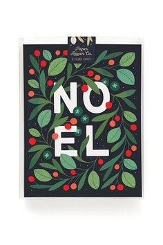 Noel Holiday Card - Box Set of 8