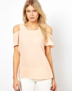 {oasis cold shoulder blouse}