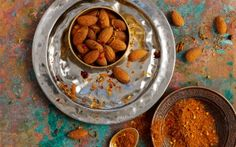North African Spiced Almonds