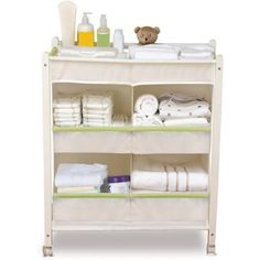Munchkin Baby Care Cart- I like how organized it is!!!