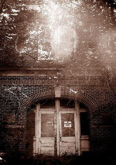 Abandoned Iowa School