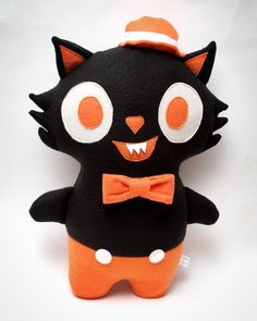 Every+party+is+a+Halloween+party+to+Midnight+Jack!    Midnight+Jack+is+handmade+using+cotton,+felt,+and+fleece.+He+measures+approximately+16+inches+tall.+Due+to+the+handmade+nature+of+a+Midnight+Jack,+each+one+will+vary+slightly.+    Plush+are+made+to+order.+Please+allow+up+to+4+to+6+weeks+for+yo...