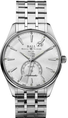 @ballwatchco Trainmaster Kelvin #add-content #basel-16 #bezel-fixed #bracelet-strap-steel #brand-ball-watch-company #case-depth-11-8mm #case-material-steel #case-width-39-5mm #date-yes #delivery-timescale-1-2-weeks #dial-colour-silver #gender-mens #luxury #movement-automatic #new-product-yes #official-stockist-for-ball-watch-company-watches #packaging-ball-watch-company-watch-packaging #style-dress #subcat-trainmaster #supplier-model-no-nt3888d-s1j-slc #warranty-ball-watch-company-offi...