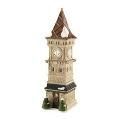"Department 56: Products - ""Dickens Clock Tower"" - View Accessories"