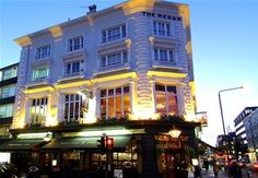 The Redan Pub, Westbourne Grove, London. Must take Caleb here.