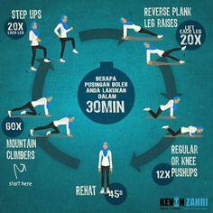 Exercise in Ramadhan