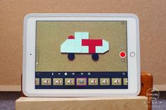 Explore Shapes and Patterns with Stop Motion Video and Spielgaben - An Everyday Story