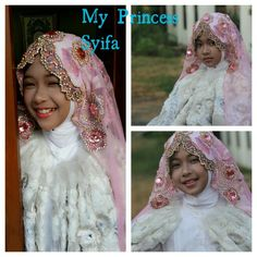 This is the traditional dress like a princess....for Acara Batamat Al-Quran. Acara Batamat Al-Quran is when the somebody finished read the holly Quran