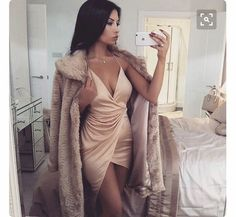Image about fashion in outfit by ᑎ I ᑕ O ᒪ E on We Heart It Mode Outfits, Sexy Outfits, Sexy Dresses, Cute Dresses, Fashion Outfits, Bad And Boujee Outfits, Bar Outfits, Vegas Outfits, Woman Outfits