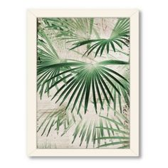 Americanflat Urban Road Collection Tropical 7 Framed Art Work - BedBathandBeyond.com