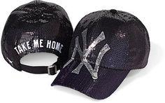 Victoria's Secret Pink® New York Yankees Sequin Baseball Hat