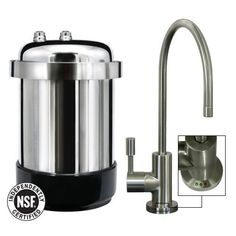 Best Kitchen Faucet | WaterChef U9000 Premium UnderSink Water Filtration System Brushed Nickel Faucet *** Visit the image link more details. Note:It is Affiliate Link to Amazon. #photooftheday