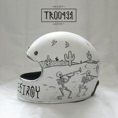 custom helmet | trooper