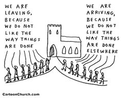Why People Visit, Join and Leave a Church Spiritual But Not Religious, Religious Humor, Human Resources Humor, Hr Humor, Church Humor, Negative Person, Bible Illustrations, Lose Something, Christian Humor