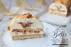 recette-buche-de-noel-cacahuetes-caramel-vanille/ - The world's most private search engine Christmas Log, Christmas Desserts, Cake Recipes, Dessert Recipes, Yule Log, Log Log, Christmas Breakfast, Food Cakes, Holiday Recipes