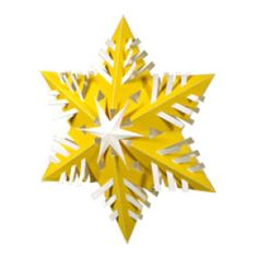 Free Paper Snowflake Templates » Curbly | DIY Design Community