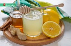 Delicious, healthy and nutritious recipes, like Honey Ginger Lemonade, from Dr. Weil, your trusted health advisor. Nutritious Meals, Healthy Snacks, Healthy Recipes, Diet And Nutrition, Health Diet, Bebidas Detox, Ginger Lemonade, Homemade Syrup, How To Squeeze Lemons