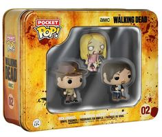 The Walking Dead Funko Pocket Pop! Tin