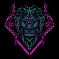 Lion head geometry vector illustration P. Vector Design, Vector Art, Logo Design, Lion Vector, Vector Illustrations, Vector Graphics, Design Design, Arte Do Hip Hop, Lion Sketch