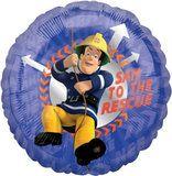 Fireman Sam Blue Foil Balloon (each) 4th Birthday, Birthday Party Themes, Balloon Pinata, Fireman Sam, Sweatshirt Makeover, Loot Bags, Balloon Centerpieces, Party Plates, Foil Balloons