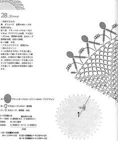 View album on Yandex. Crochet Doilies, Views Album, Crochet Patterns, Author, Beautiful, Yandex, Pearls, Tejidos, Crochet Pattern