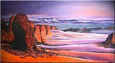 BURGSTALLER ORIGINAL XXL Gemälde Bilder Kunst Malerei Painting Landschaft WÜSTE