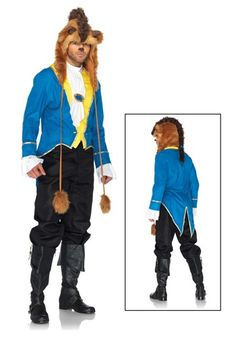 Mens Disney Beast Costume... can you imagine couples beauty and the beast costume? :D