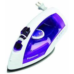 #9: Panasonic U-Shape Steam Iron, White / Violet finish, NI-E650TR