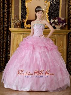 Quinceanera Dresses shop offers Elegant Sweet 16 Dresses - New Baby Pink Sweet 16 Dress Strapless Organza Beading Ball Gown, baby pink- Elegant Sweet 16 Dresses,cheap floor-length organza- sweet 16 dress with lace up back and for sweet Sweet Sixteen Dresses, Sweet 15 Dresses, Baby Pink Dresses, Quince Dresses, Pink Sweet 16 Dress, Black Quinceanera Dresses, Strapless Organza, Dresser, Cheap Gowns